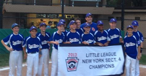 section 4 little league ny little league insider ny s4 pearl river completes