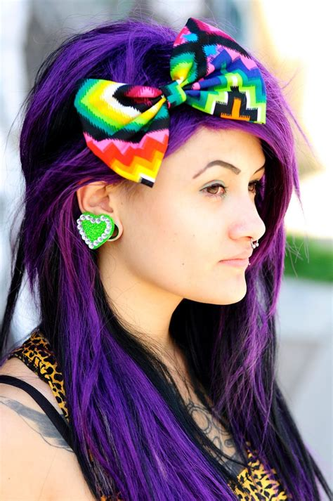 hair dye for mexicans colorful hair bow large bow