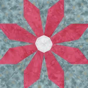 flower quilt block pattern