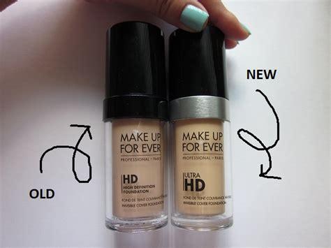 Makeup Forever Ultra Hd Foundation make up for hd foundation vs new make up for