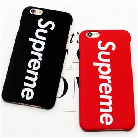 Supreme Iphone 6 Iphone 6s supreme for iphone 7 plus 6 6s plus 5s se luxury