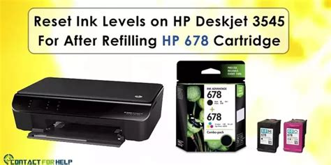 reset mp287 ink level how to reset ink levels on hp deskjet 3545 for after