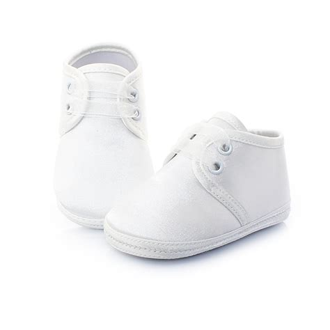 white baby sneakers baptism with cotton white baby shoes for 0 2 years