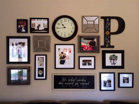 Picture Frame Decor by Best 25 Collage Frames Ideas On Wall Picture