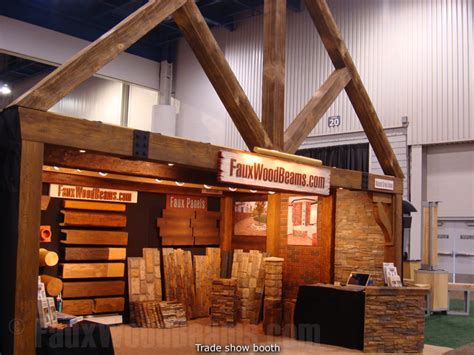 wood design booth portable trade show displays easy booth design with faux