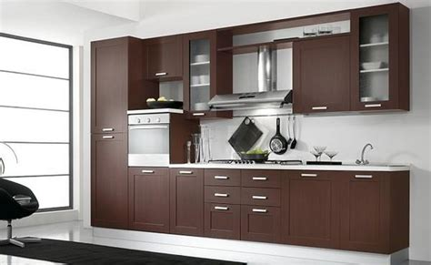 mueble cocina moderno dise 241 os de muebles de cocinas de melamina modernos