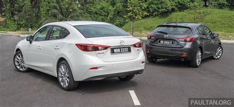 gallery 2015 mazda 3 ckd sedan vs hatchback