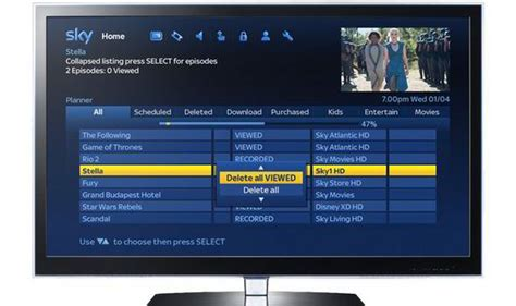 sky layout update email sky rolls out update for sky hd boxes with improved