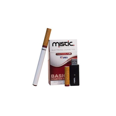 mistic e cig charger mistic starter kit tobacco flavor the electric