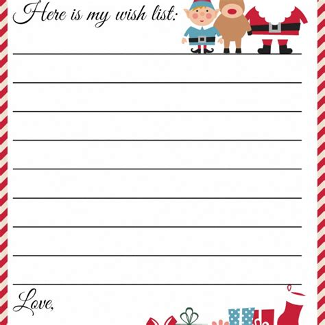 christmas letter template word free images