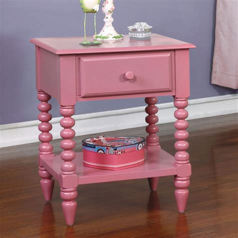 lindsey youth kids colorful bedroom night stand unique