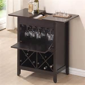 schrank mit weinregal tuscany brown modern bar and wine cabinet