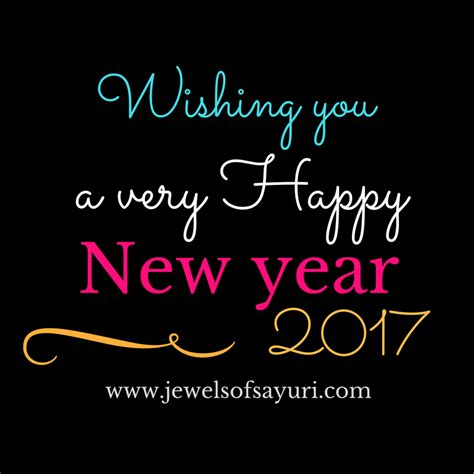 new year 2016 greetings email the year that was 2016 jewels of sayuri