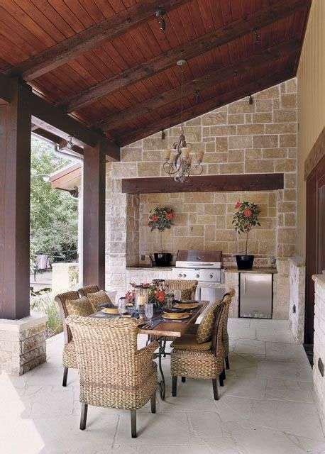 tavolo in muratura cucine da esterno in muratura foto design mag