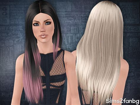 the sims 3 haircolors sims2fanbg s hair 14 af