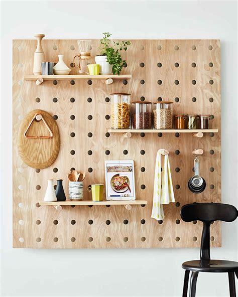 Lochbrett Holz by Small Kitchen Organizing Idea