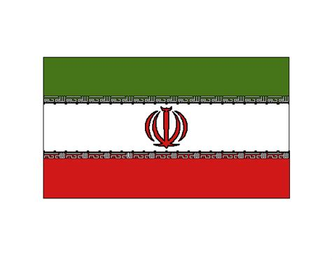 colored page iran painted by user not registered