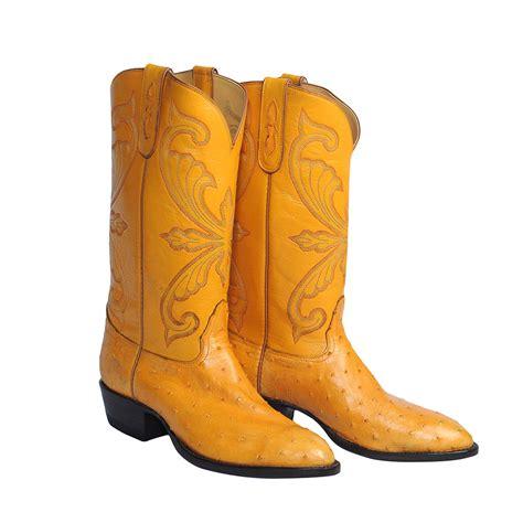 ostrich cowboy boots for buttercup quill ostrich cowboy boots size 10d usgator