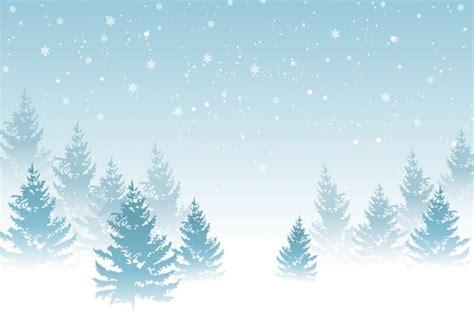 winter design trees retro art template abstract beautiful winter background free vector in adobe illustrator ai