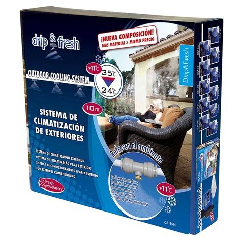 nebulizador jardin drip fresh c5115n kit de nebulizaci 243 n es jard 237 n