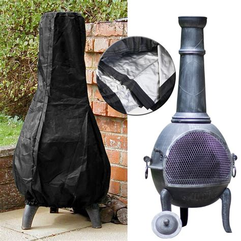Chiminea Cover Garden Pvc Chimenea Chimnea Chiminea Patio Heater Pit