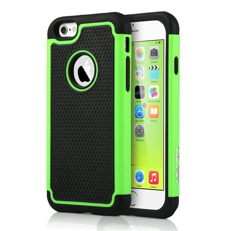 Rubber Hardcase Cover For Iphone 6s Iphone 6s rugged rubber shockproof protective cover for apple iphone 6 6s 4 7 quot 742920024475 ebay