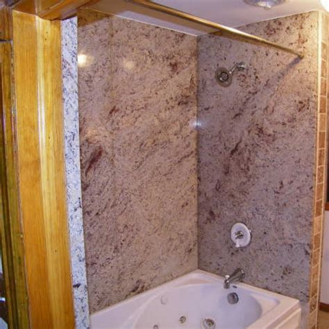 bathtub shower walls granite bathtub wall surround roselawnlutheran