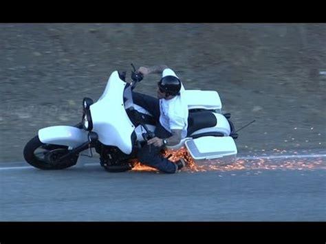 Led Sharp 45in Open Guys bagger crash on mulholland highway