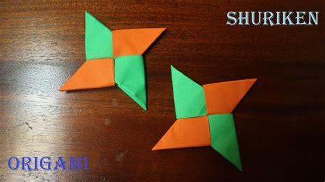 cara membuat origami shuriken cara membuat origami shuriken mudah youtube