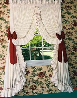 special order curtains carolina pearl edge country style curtains