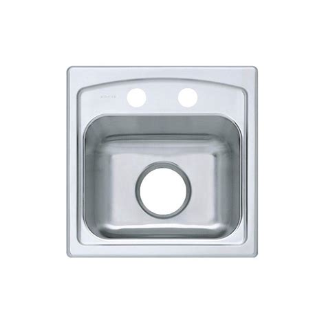 Kohler Toccata Drop In Stainless Steel 15 In 2 Hole