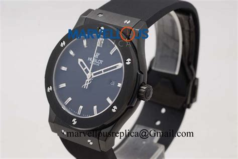 Jam Hublot Big Black Best Clone hublot big classic fusion 38mm replica a2892 black