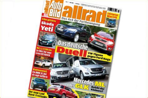 Auto Bild Allrad 4 by Kuga Trifft Tiguan Autobild De