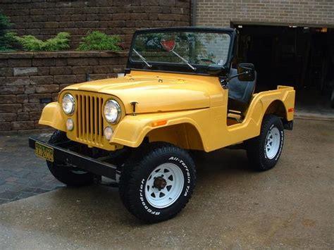 1971 Jeep Cj5 Yellowcj 1971 Jeep Cj5 Specs Photos Modification Info At