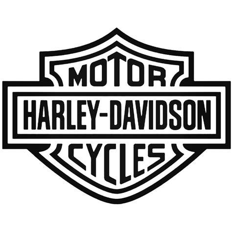 Stiker Harley Davidson Line 30 Cm motorcycle s harley davidson shield style 1 decal