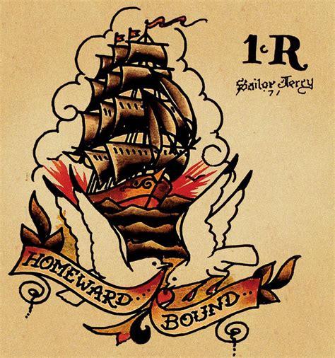 tattoo old school navy sailor jerry captainblack s blog
