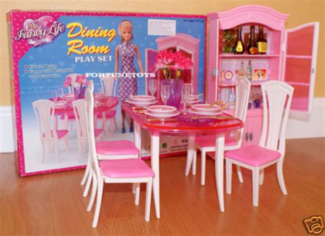 barbie dining room gloria furniture dollhouse classic dining room w dining