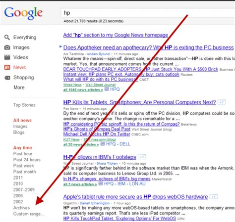 Google Images Archive | confirmed google news archive search s home page is gone