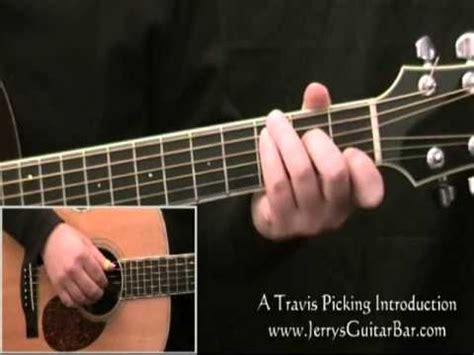 fingerstyle guitar tutorial for beginners travis picking a beginner s fingerpicking guitar lesson