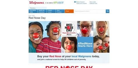 Walgreens Sweepstakes - walgreens rednose sweepstakes a good laugh for a good cause