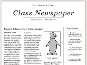 microsoft publisher newspaper template free freedom how to publish a class newspaper by using ms