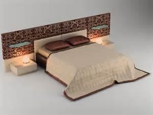 3d Bed Free 3d Model 3d Bed Model Quality 3d Models