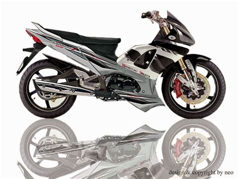 Gambar Modifikasi Motor Supra X by Modifikasi Motor Supra X 125 Drag Thecitycyclist