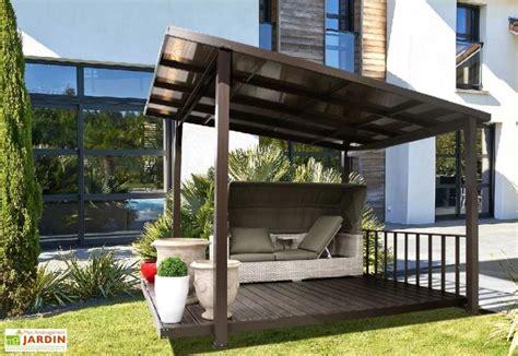 aluminium terrasse tonnelle aluminium et polycarbonate terrasse couverte 3 45