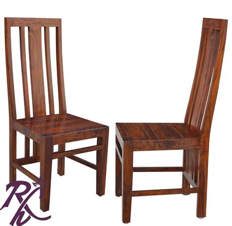 Solid Dining Chairs Buy Solid Wooden Dining Chair In India Rajhandicraft Furniture