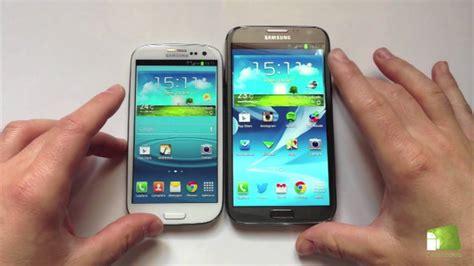 Samsung S3 Verus comparativa samsung galaxy s3 vs samsung galaxy note 2 en espa 241 ol faqsandroid