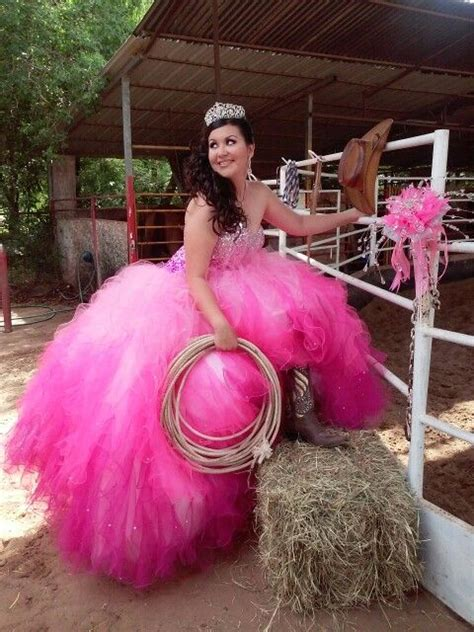 country  western style quinceanera quinceanera