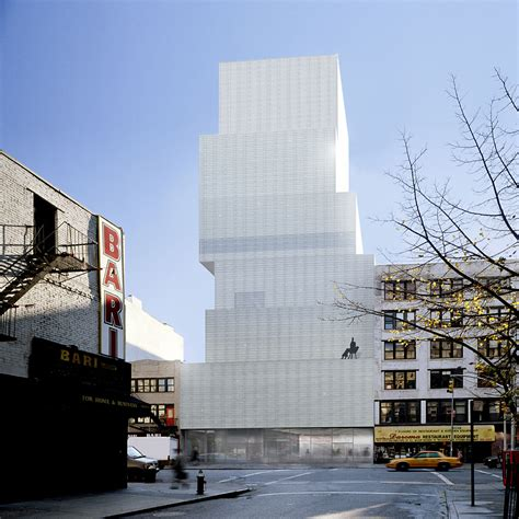 new york architects new museum of contemporary by sanaa in new york united states 001 ideasgn