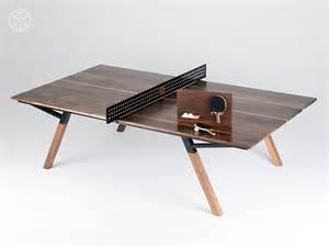 Wood Ping Pong Table by The Woolsey Walnut Wood Ping Pong Table Dining Table