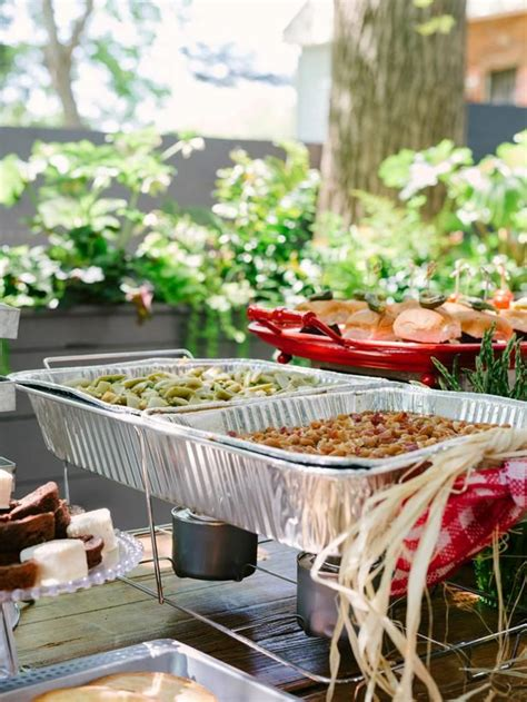 backyard bbq wedding 25 best ideas about bbq catering on buffet